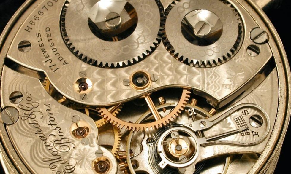 Принцип работы механических часов