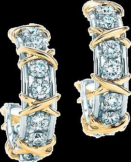 Tiffany & Co. Schlumberger серьги