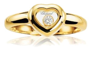 Кольцо Chopard  HAPPY HEARTS 824854-0112