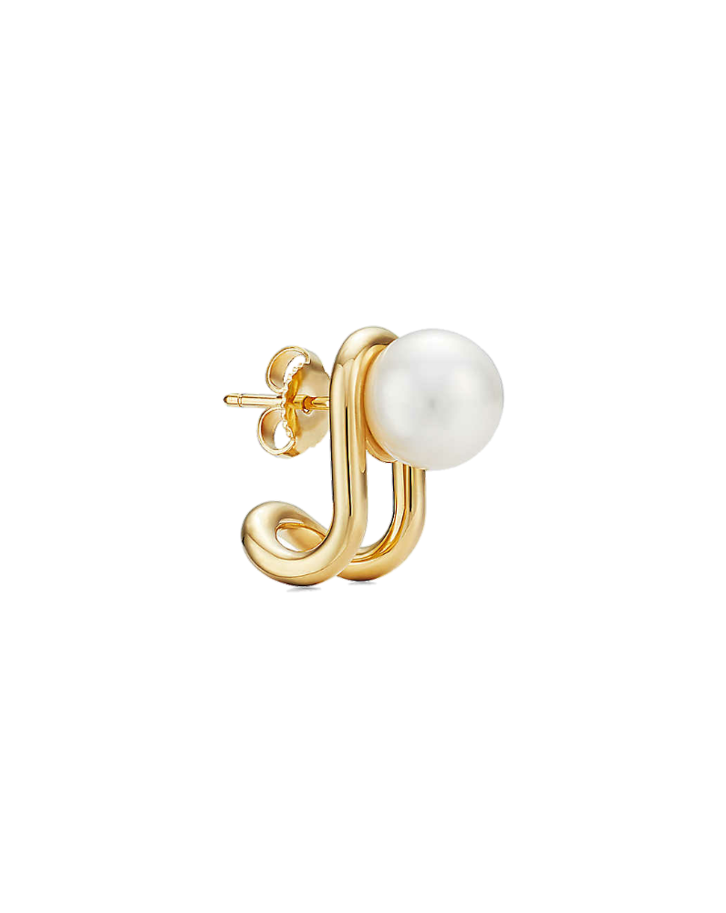 Серьги Tiffany&Co Tiffany HardWear  с жемчугом Южных морей