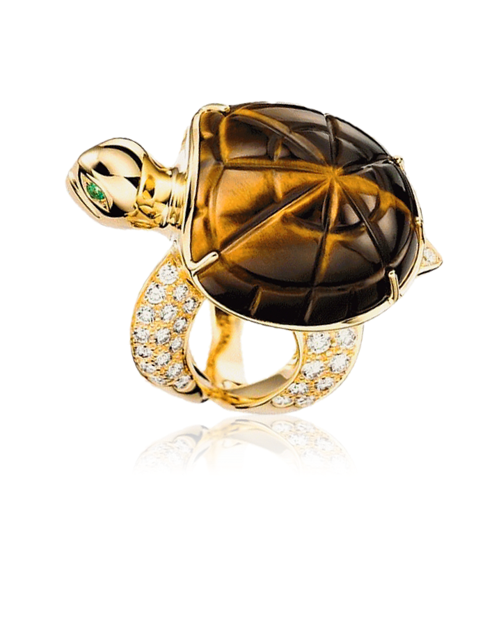 Кольцо Boucheron HONU THE TURTLE FAMILY LARGE MODEL JRG01822