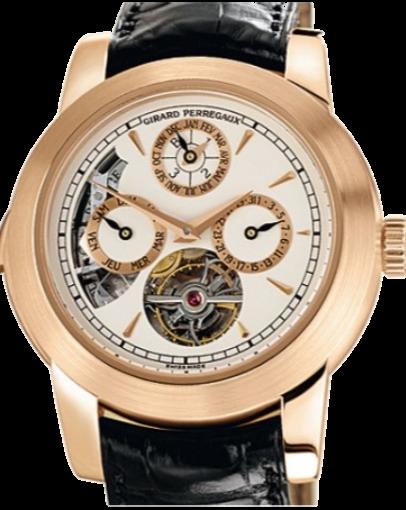 Часы Girard-Perregaux Haute Horlogerie Opera Two - Tourbillon Westminster Minute Repeater Perpetual Calendar99741-52-831-BAEA