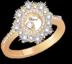 Кольцо Chopard  Happy Diamonds 829463-5110