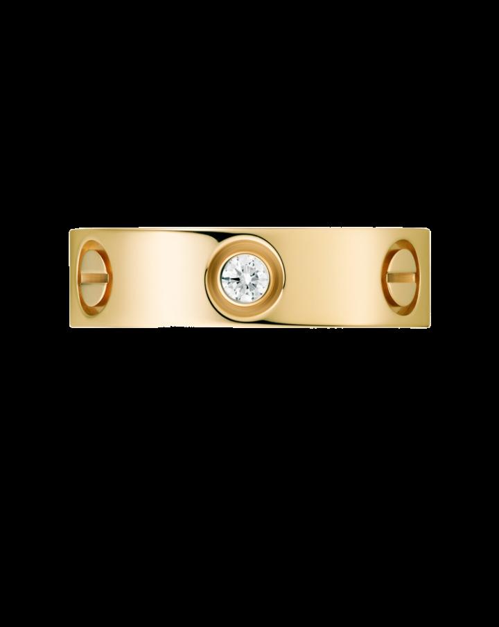 Кольцо Cartier  LOVE 3 БРИЛЛИАНТА B4032450