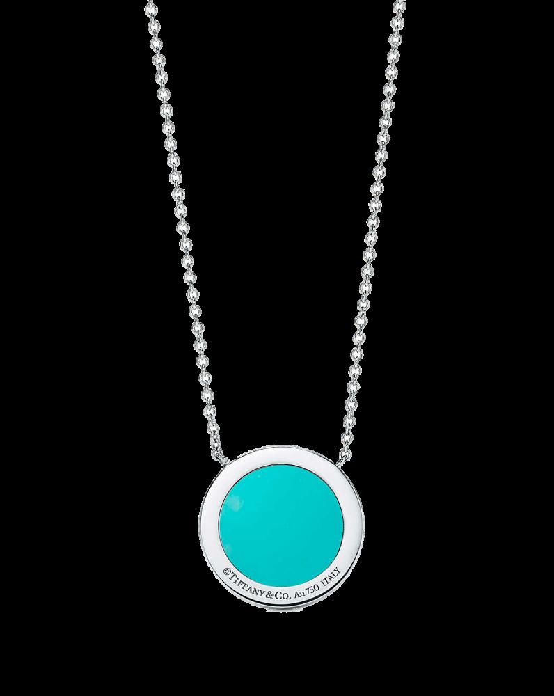Подвеска Tiffany&Co TiffanyT с бриллиантами и бирюзой