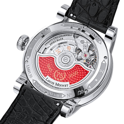 Часы Louis Moinet LIMITED EDITION 1945-2020 75 ЛЕТ ПОБЕДЫ