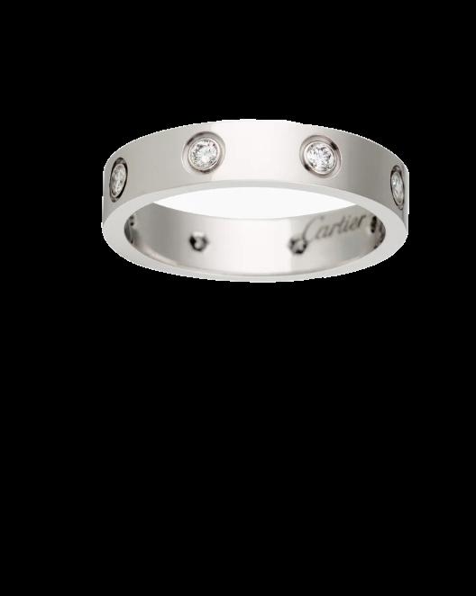 Кольцо Cartier  LOVE 8 БРИЛЛИАНТОВ B4050652