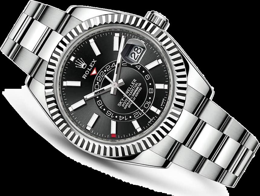 Часы Rolex SKY DWELLER 42 MM STEEL AND WHITE GOLD