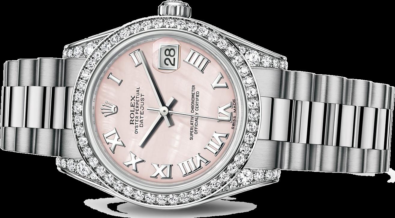 Часы Rolex  Datejust 31mm White Gold 178159-0042