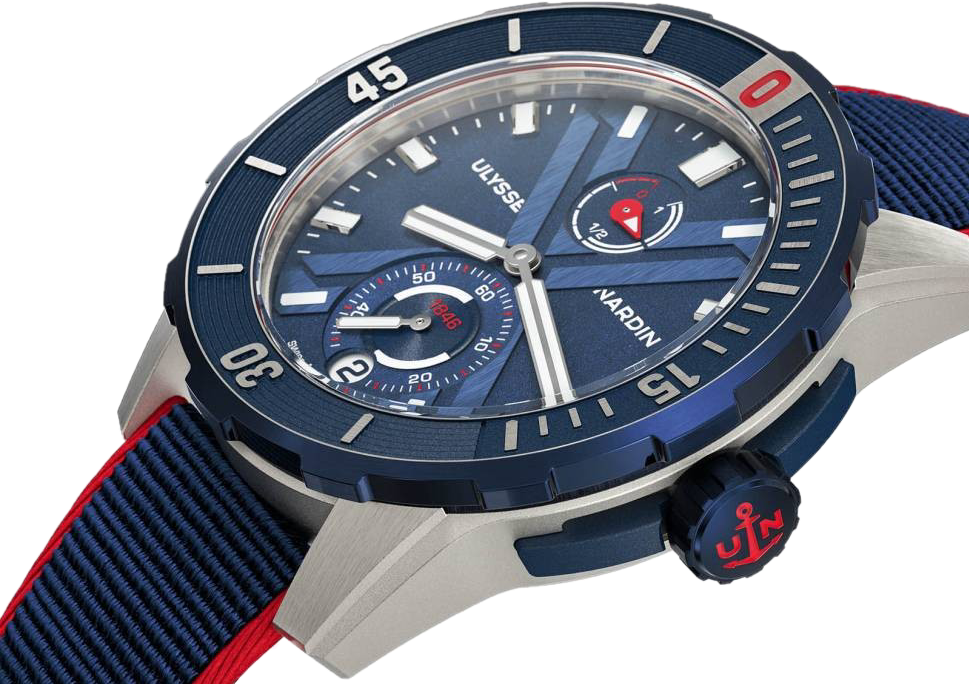 Часы Ulysse Nardin DIVER CHRONOMETER 44 NEMO POINT