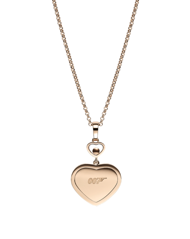 Подвеска Chopard  Happy Diamonds Happy Hearts James Bond 007 арт 79A007 5021