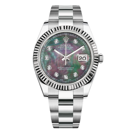 Часы Rolex  Datejust II 41mm Steel and White Gold