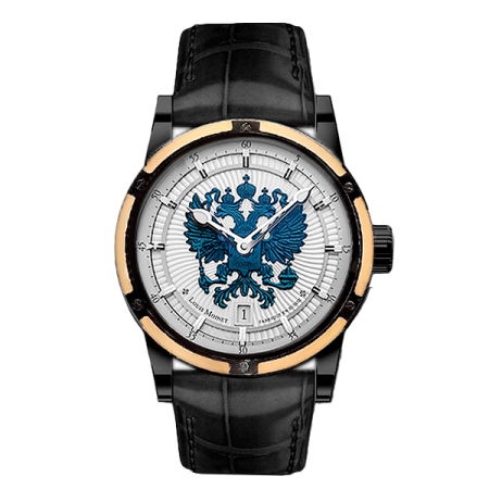 Часы Louis Moinet Russian Eagle Rich Time Edition
