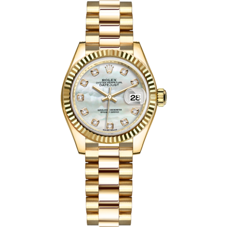 Часы Rolex Lady Datejust Yellow Gold179178 mdp