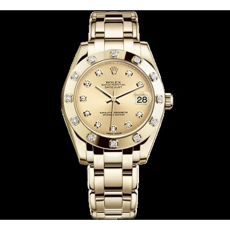 Часы Rolex Pearlmaster Yellow Gold 29 mm