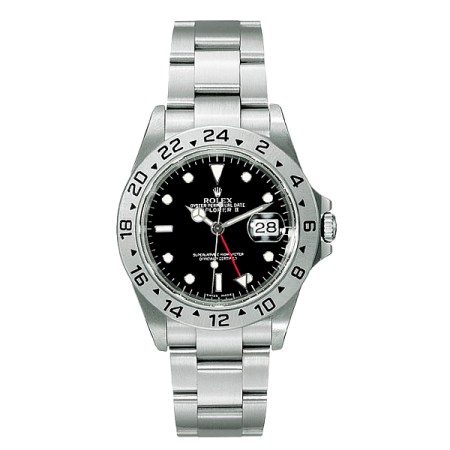 Часы Rolex Explorer II 40mm Steel 16570 Black