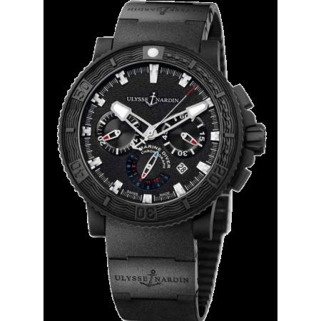 Часы Ulysse Nardin Diver Black Sea Chronograph353-92-3C