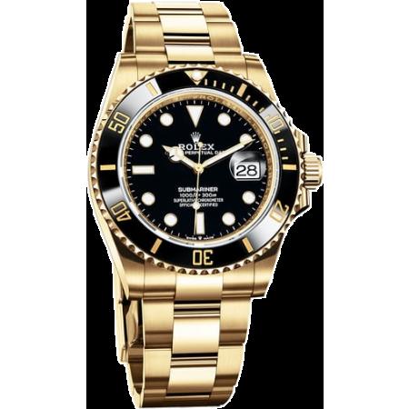 Часы Rolex SUBMARINER DATE 41 MM YELLOW GOLD 126618LN