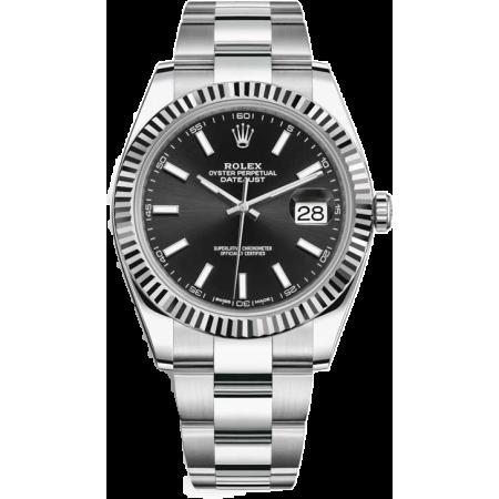 Часы Rolex Datejust 41mm Steel and White Gold 126334-0017