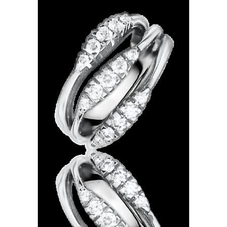 Кольцо с бриллиантом Damiani кольцо с бриллиантами