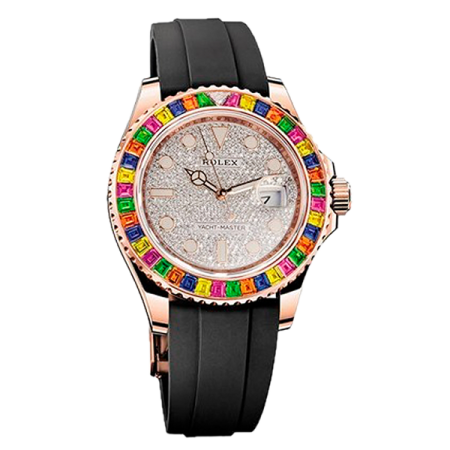 Часы Rolex YACHT-MASTER 40 MM RAINBOW ROSE GOLD