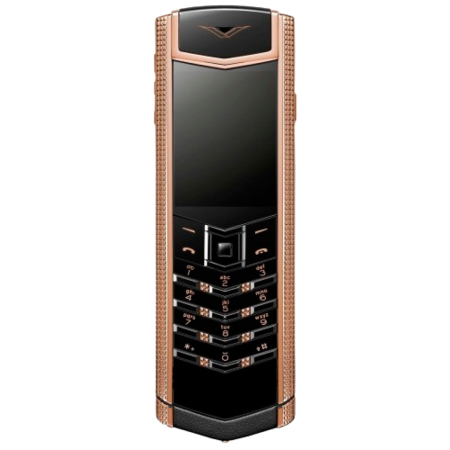 Vertu SIGNATURE S DESIGN CLOUS DE PARIS РОЗОВОЕ ЗОЛОТО