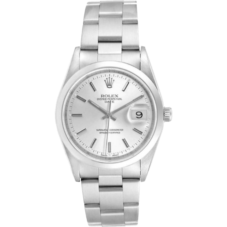 Rolex  Oyster Perpetual Date 34mm Steel 15200