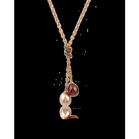 Колье Yvel Pearls and Diamond Necklace N2MMARGBY