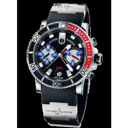 Часы Ulysse Nardin Marine Maxi Diver Chronograph 8003 102 3 92