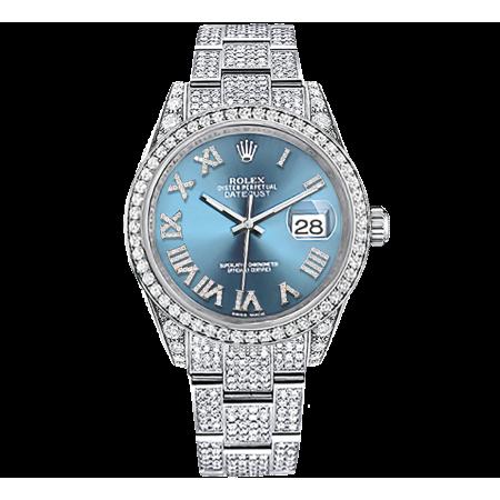 Часы Rolex DATEJUST DIAMONDS 41 MM 126300 Тюнинг