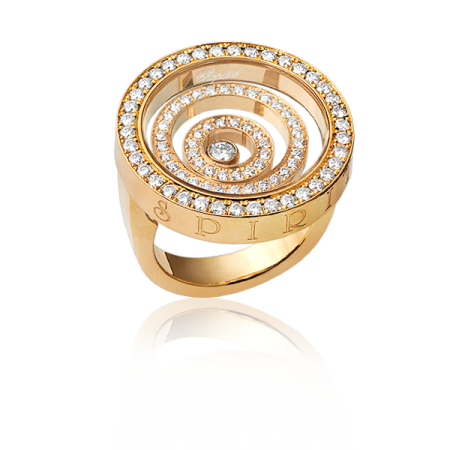 Кольцо Chopard  Happy Spirit