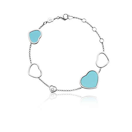 Браслет Chopard  Happy Diamonds Happy Hearts 857482-1041