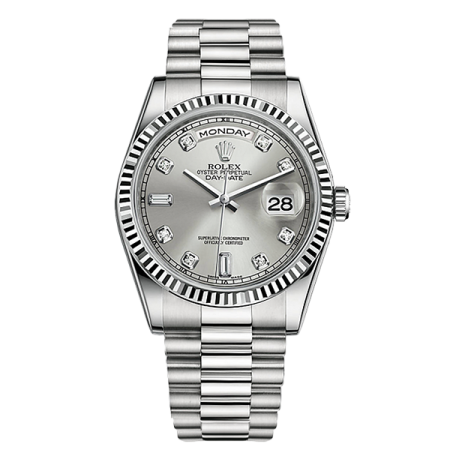 Часы Rolex DAY DATE 36 MM WHITE GOLD