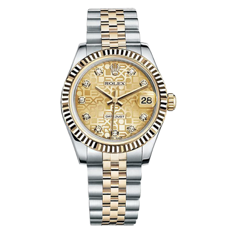 ROLEX DATEJUST 31 MM, STEEL AND YELLOW GOLD