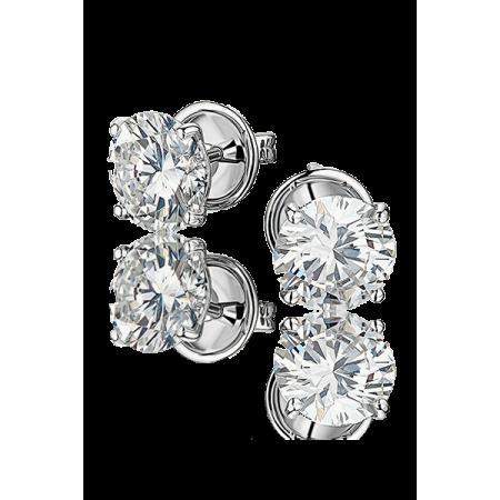GRAFF DIAMOND STUD EARRINGS 1.04 CT G/VS1 - 1.04 CT G/VS1