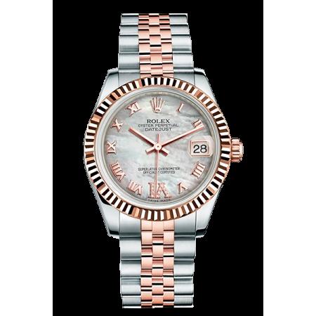 Часы Rolex Datejust Datejust 31mm Steel and Everose Gold 178271 0073