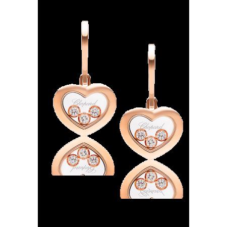 Серьги Chopard — Happy Diamonds Icons Heart 83A611 5301