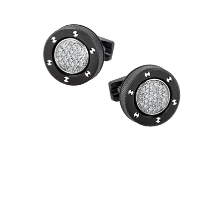 Запонки Hublot BIG BANG REVERSIBLE CUFFLINKS ref BM 02 SX 0001