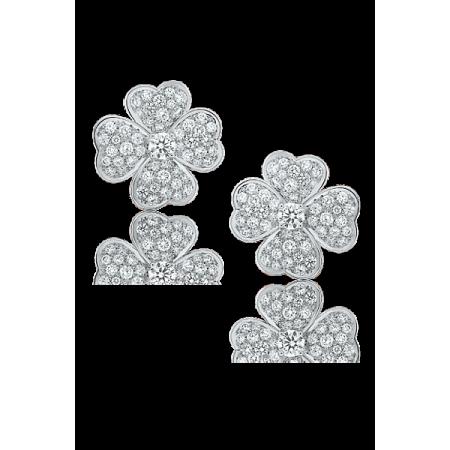 Серьги Van Cleef & Arpels  Cosmos маленькая модель