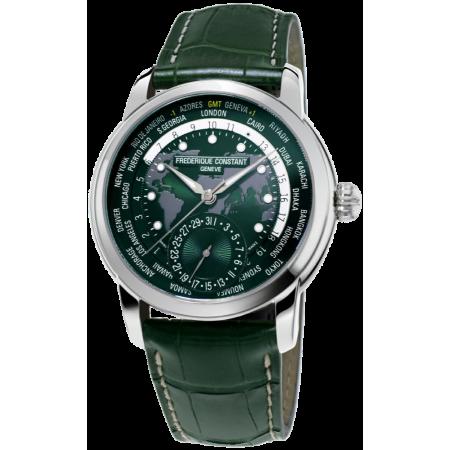 Часы Frederique Constant Classics Worldtimer FC-718GRWM4H6