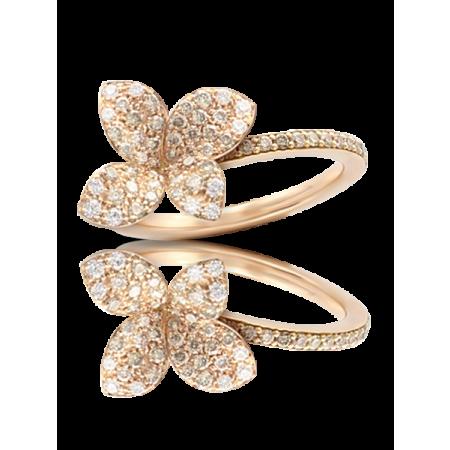 Кольцо Pasquale Bruni  маленький цветок арт.15380R