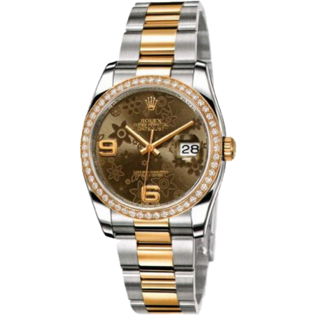 Часы Rolex DATEJUST 36MM STEEL AND YELLOW GOLD
