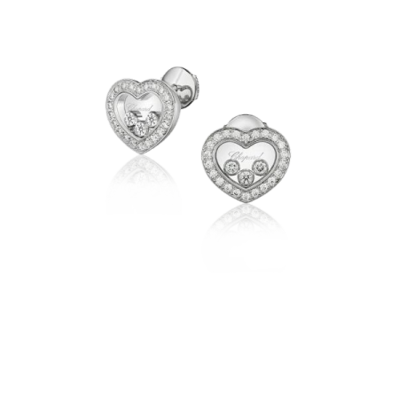 Серьги Chopard HAPPY DIAMONDS ICONS EAR PINS  арт 83A611 1201