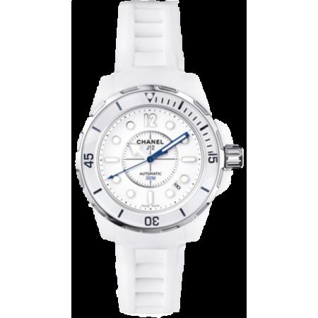 Часы Chanel J12 Marine Valkoinen H2560