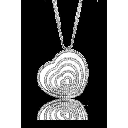 Колье Chopard Happy Diamonds Hearts Pendant