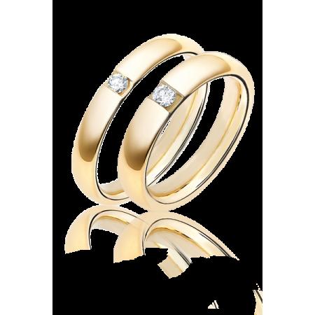 Кольцо Damiani DA Обручальные кольца