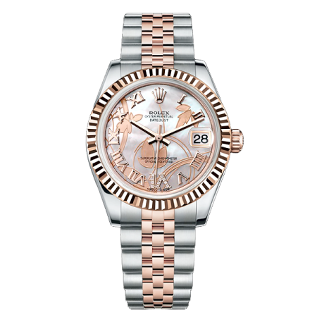 Часы Rolex DATE JUST STEEL and ROSE GOLD 31 мм
