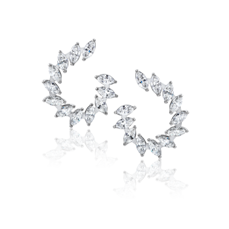 Серьги RALFDIAMONDS  с бриллиантами 3 50ct.