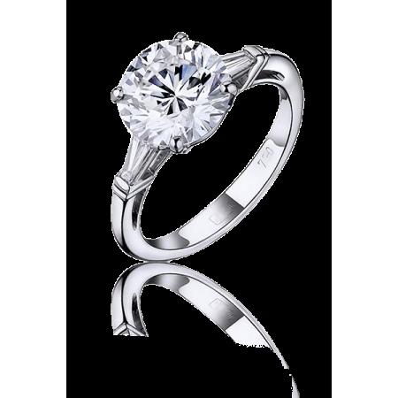 Tiffany & Co кольцо с бриллиантом  2,03 ct F/VVS2 GIA