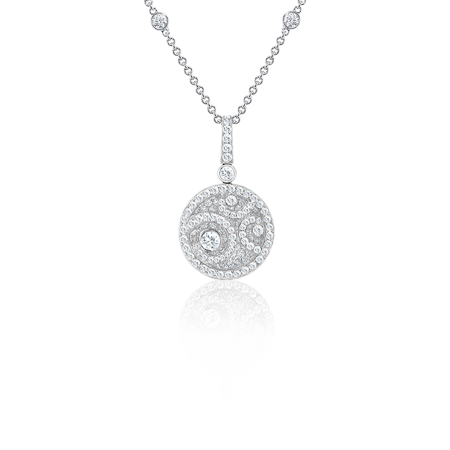 Колье Graff DIAMOND ON DIAMOND SMALL SIZE